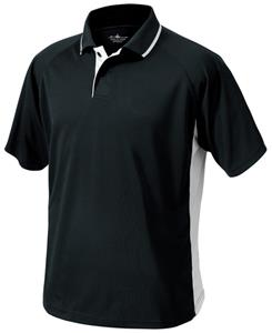 Charles River Men's Color Blocked Wicking Polo
