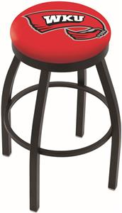 Western Kentucky Univ Flat Ring Blk Bar Stool