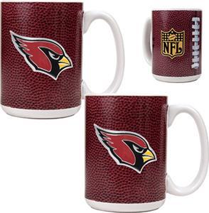 NFL Arizona Cardinals Gameball Mug (Set of 2)