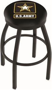United States Army Flat Ring Blk Bar Stool