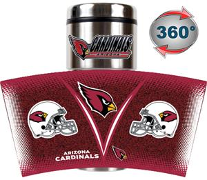 NFL Arizona Cardinals Tumbler (Logo & Team Name)
