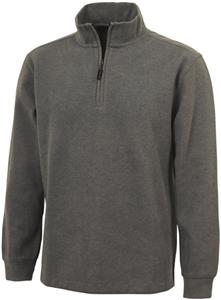 Charles River Portland Quarter Zip Cotton Pullover