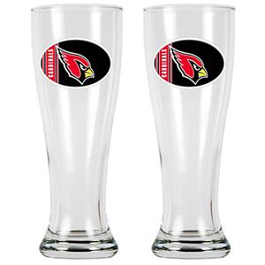 NFL Arizona Cardinals 2 Pc Classic Pilsner Set