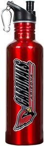 NFL Arizona Cardinals Red Stainless Water Bottle