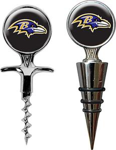 NFL Baltimore Ravens Cork Screw & Bottle Topper