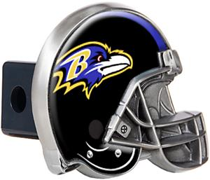 NFL Baltimore Ravens Helmet Trailer Hitch Cover