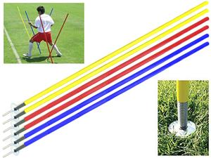 Soccer Innovations Spring Base Agility Pole Sets