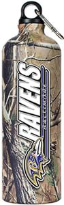 NFL Baltimore Ravens 32oz RealTree Water Bottle