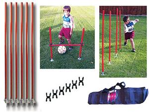 Soccer Innovations Telescoping Agility Pole Sets