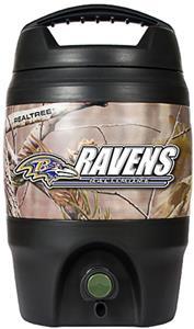 NFL Baltimore Ravens 1 gal Realtree Tailgate Jug
