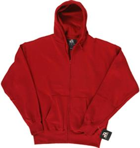 J America Premium Full Zip Fleece Hoodie