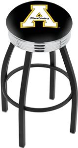 Appalachian State Univ Ribbed Ring Bar Stool