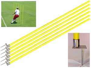 Soccer Innovations Off-Set Spike Agility Pole Sets