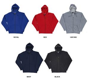 J America Full Zip Hooded Sweatshirt