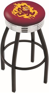 Arizona State University Ribbed Ring Bar Stool