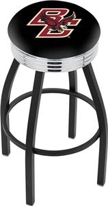 Boston College Ribbed Ring Bar Stool