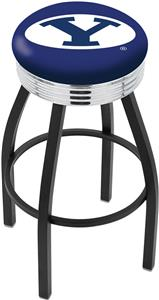 Brigham Young University Ribbed Ring Bar Stool