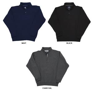 J America Heavyweight Fleece 1/4 Zip Pullovers