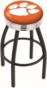 Holland Clemson Ribbed Ring Bar Stool