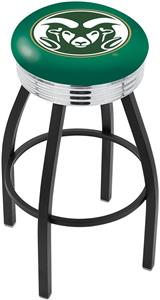 Colorado State University Ribbed Ring Bar Stool