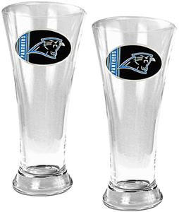 NFL Carolina Panthers 2 Piece Pilsner Glass Set