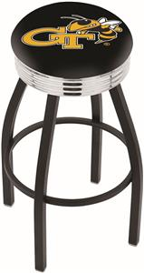 Georgia Tech Ribbed Ring Bar Stool