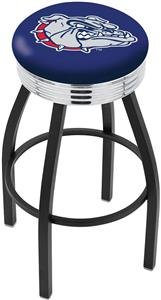 Holland Gonzaga Ribbed Ring Bar Stool