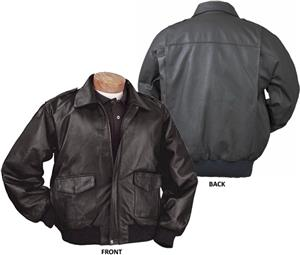 Burk&#39;s Bay Napa Leather Bomber Jacket