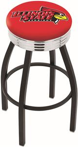Illinois State University Ribbed Ring Bar Stool