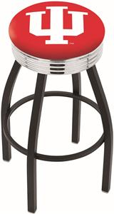 Indiana University Ribbed Ring Bar Stool