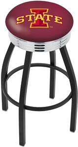 Iowa State University Ribbed Ring Bar Stool