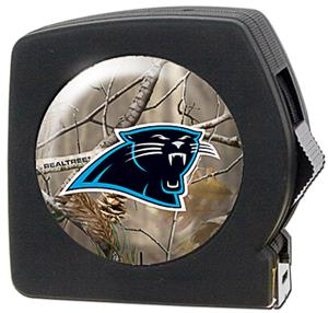 NFL Carolina Panthers 25' RealTree Tape Measure