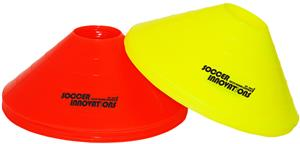 "Soccer Innovations 12"" Disc Saucer Cone Sets"