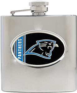 NFL Carolina Panthers 6oz Stainless Steel Flask