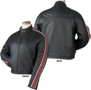 Burk's Bay Ladies Racing Leather Jacket