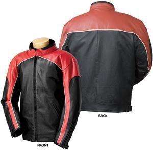 Burk&#39;s Bay Racing Leather Jacket