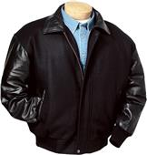 Burk's Bay Wool & Premium Lamb Leather Jacket