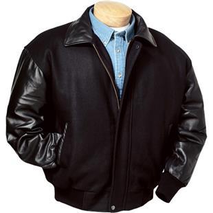 Burk's Bay Wool & Premium Lamb Leather Jacket