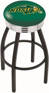 North Dakota State Univ Ribbed Ring Bar Stool