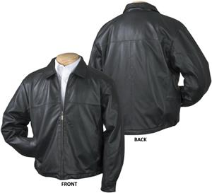 Burk's Bay Men's Premium Lamb Leather Jacket
