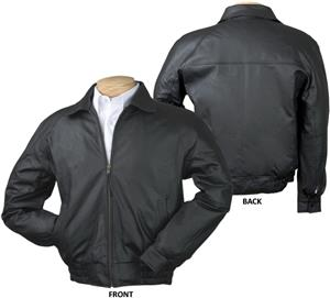 Burk&#39;s Bay Napa Classic Leather Jacket