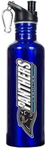 NFL Carolina Panthers Blue Stainless Water Bottle