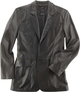 Burk's Bay Men's Lamb Leather Blazer