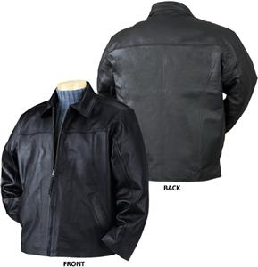 Burk's Bay Napa Driving Leather Jacket