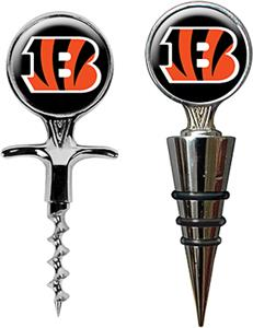 NFL Cincinnati Bengals Cork Screw & Bottle Topper