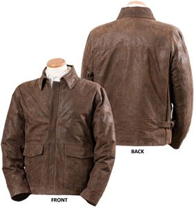 Burk&#39;s Bay Napa Leather Casual Coat