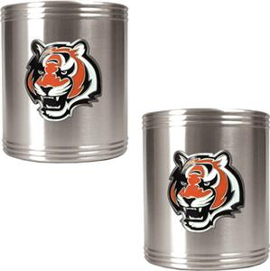 NFL Cincinnati Bengals Stainless Steel Can Holders