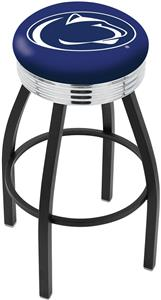 Pennsylvania State Univ Ribbed Ring Bar Stool