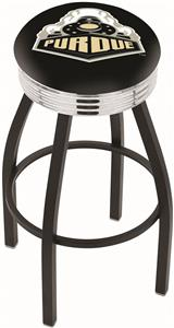 Holland Purdue Ribbed Ring Bar Stool