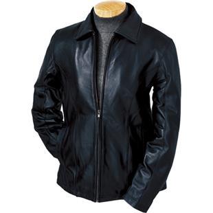 Burk's Bay Ladies Lamb Leather Coat